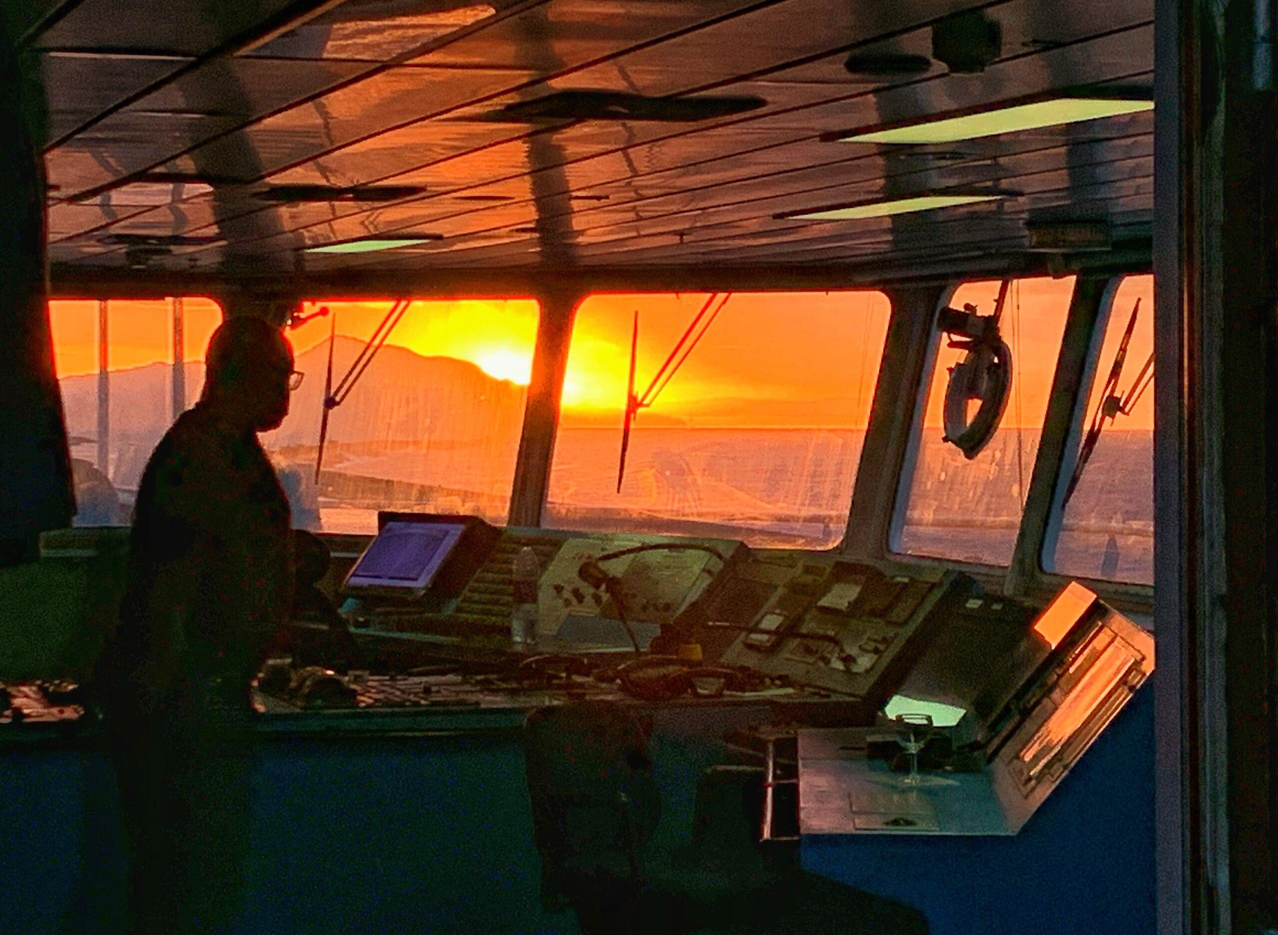 Ponte di Comando della nave